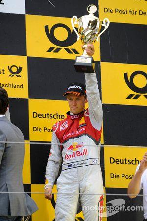 Podium: 3de Mattias Ekström, Audi Sport Team Abt Sportsline