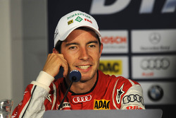 Post-race press conference: second place Mike Rockenfeller