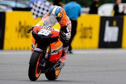 Ganador de la carrera Dani Pedrosa, Repsol Honda Team se lleva la victoria