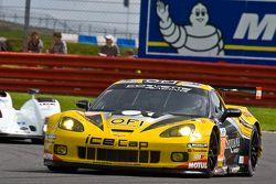 #70 Larbre Competition Chevrolet Corvette C6 ZR1: Christophe Bourret, Pascal Gibon, Jean-Philippe Be