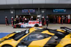 #42 Greaves Motorsport Zytek Z11SN Nissan:Martin Brundle, Alex Brundle, Lucas Ordonez