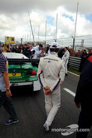 Augusto Farfus Jr., BMW Team RBM BMW M3 DTM; inspectieronde