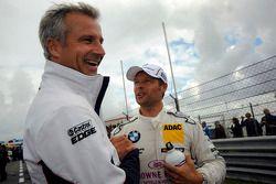Andy Priaulx, BMW Team RBM; Jens Marquardt, BMW Motorsport Director