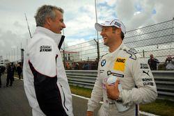 Jens Marquardt, BMW Motorsport Director; Andy Priaulx, BMW Team RBM