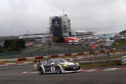 #10 Manthey Racing Porsche 911 GT3R: Jochen Krumbach, Timo Bernhard, Patrick Pilet