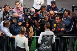 Михаэль Шумахер. ГП Бельгии, Четверг.