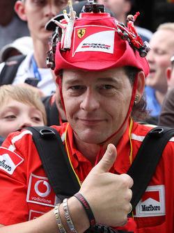 A fan of Michael Schumacher, Mercedes GP and Ferrari