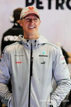 Михаэль Шумахер. ГП Бельгии, Первая пятничная тренировка.