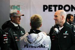 Михаэль Шумахер. ГП Бельгии, Вторая пятничная тренировка.