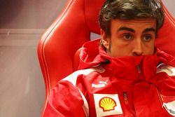 Фернандо Алонсо. ГП Бельгии, Вторая пятничная тренировка.