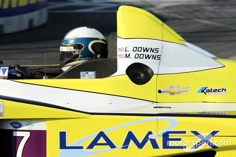 #7 Merchant Services Racing Oreca FLM09 Chevrolet: Lucas Downs, Matt Downs