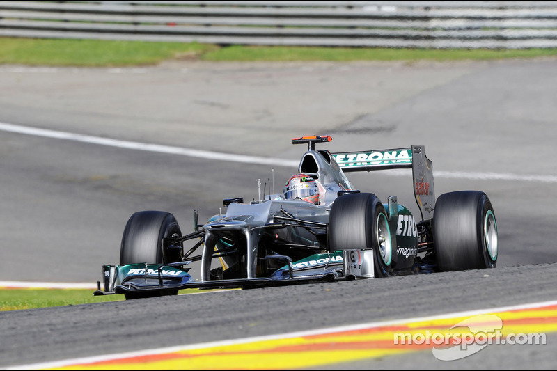 2012: Formel 1 in Spa-Francorchamps