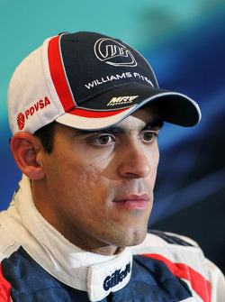 Pastor Maldonado, Williams en la post Conferencia de prensa FIA