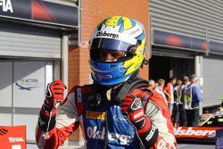 Race winner Marcus Ericsson