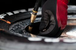 Tire pressures checked