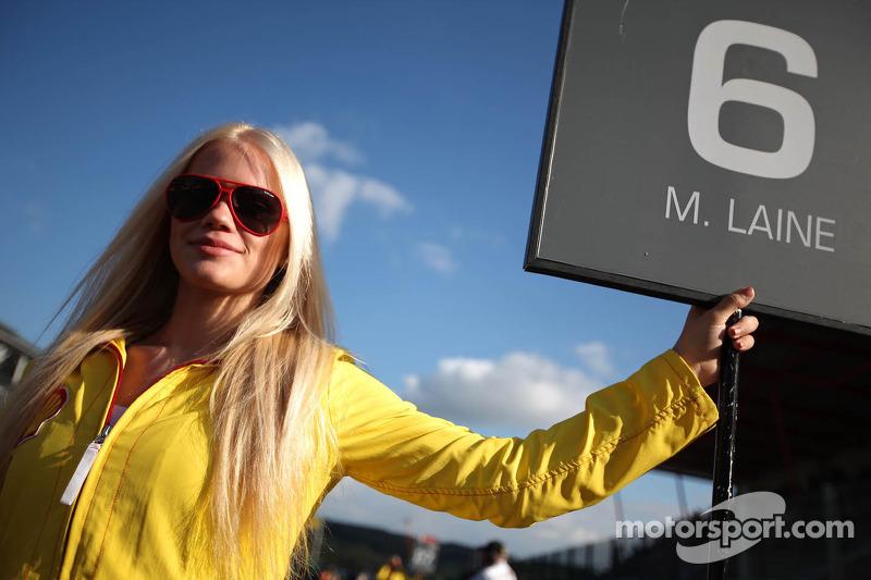 Grid girl of  Matias Laine