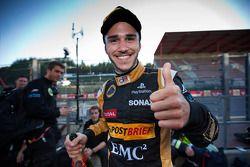 Race 1 winnaar Daniel Abt