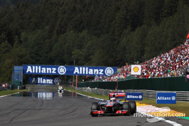 2012: Jenson Button, McLaren Mercedes MP4-27