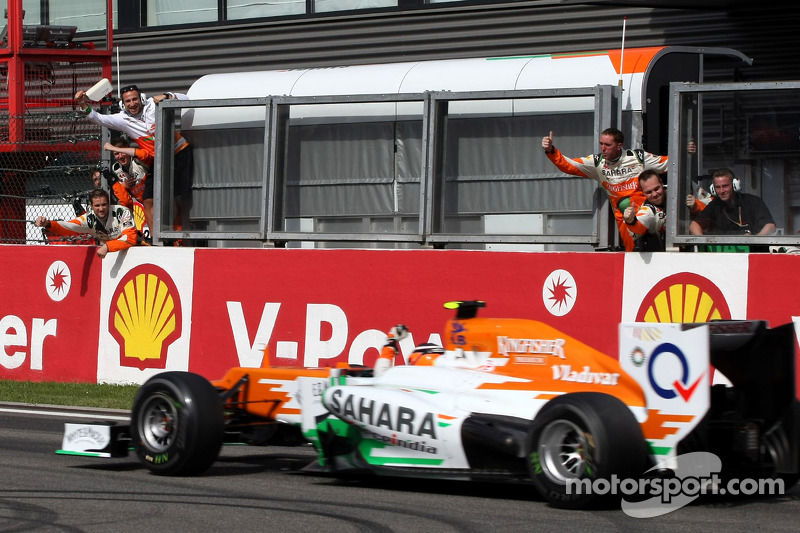Hulkenberg's best F1 result at Spa