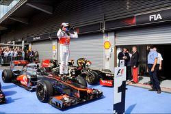 Дженсон Баттон. ГП Бельгии, Воскресенье, после гонки.