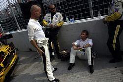 Jan Magnussen et Antonio Garcia