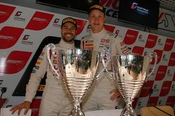Race winners Frederic Makowiecki, Stef Dusseldorp