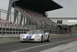 #10 Sunred Ford GT: Milos Pavlovic, Mateo Cressoni