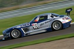 #101 Mercedes SLS AMG GT3: Dominik Baumann, Maximilian Buhk