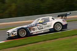 Макс Нильссон и Мика Вахамяки. FIA GT3: Москва, субботняя тренировка.