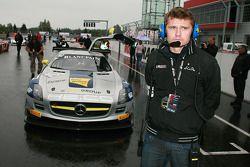 Макс Нильссон и Мика Вахамяки. FIA GT3: Москва, воскресная гонка.