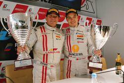 Ни Аморим и Цезарь Кампанико. FIA GT3: Москва, воскресная гонка.