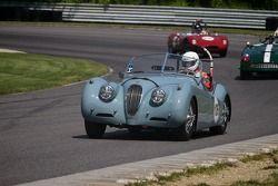 #126 Michael Kaleel Hamilton, Mass. 1954 Jaguar XK120 âOTSâ