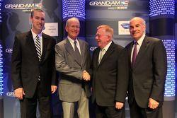 Объявление о слиянии Grand-Am и Американской серии Ле-Ман, особое событие.