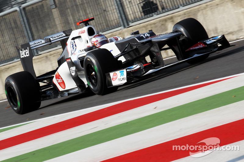 2012 : Sauber C31