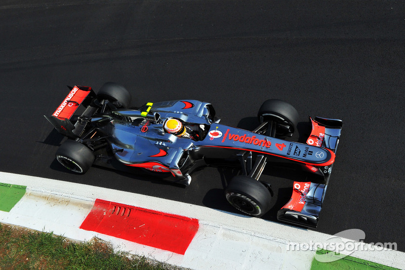 2012: Lewis Hamilton, McLaren-Mercedes MP4-27