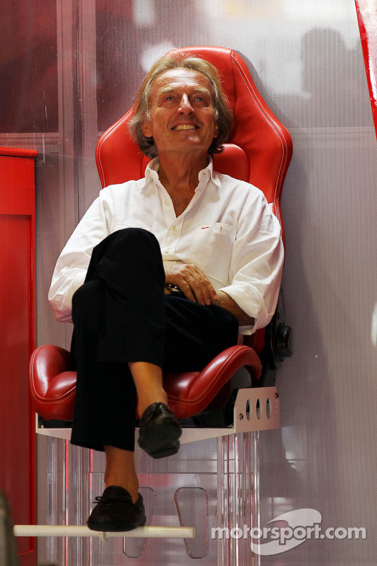 Luca di Montezemolo, Ferrari Başkanı