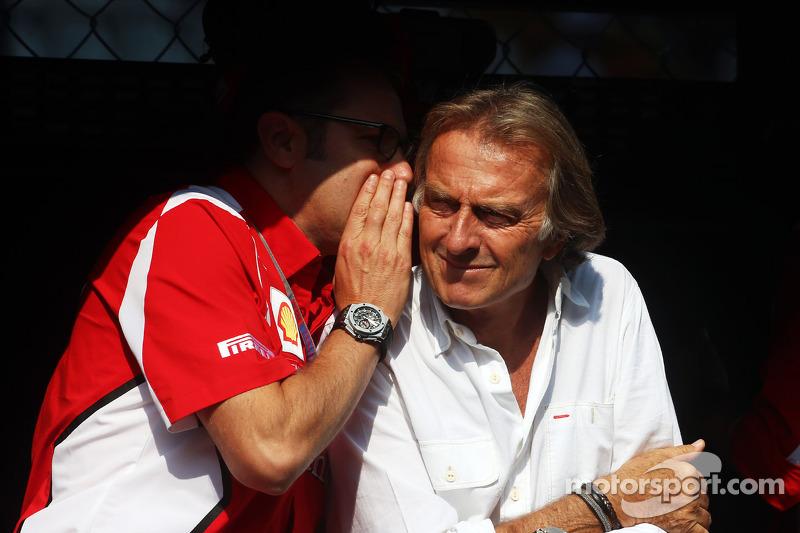Stefano Domenicali, Ferrari Direktörüü ve Luca di Montezemolo, Ferrari Başkanı