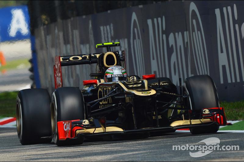 2012 год. Жером Д'Амброзио. 1 гонка за Lotus