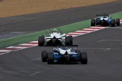 F3 cars down the international straight
