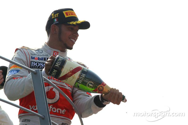 2012: Lewis Hamilton, McLaren Mercedes