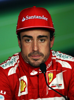 Press conference: third place Fernando Alonso, Ferrari