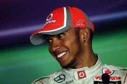 Conferencia de prensa: ganador de la carrera Lewis Hamilton, McLaren Mercedes