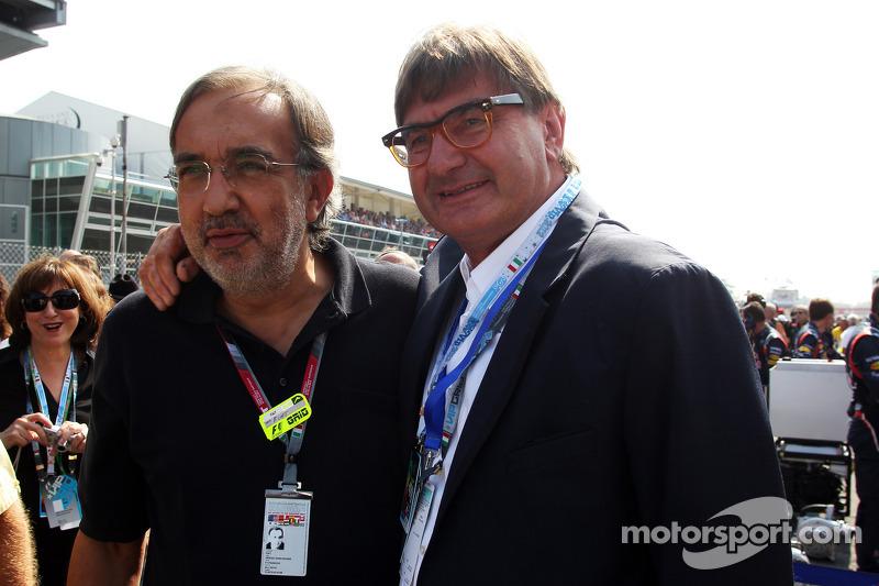 Sergio Marchionne, CEO FIAT Group, gridde