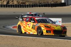 #40 Dempsey Racing Visit Florida / Share a Little Sunshine Mazada RX-8: Joe Foster, Patrick Dempsey