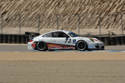 #73 Horton Autosport Neo Synthetics, Carbotech Performance Brakes, Victory Lane Wealth Management Porsche GT3 Cup: Eric Foss, Patrick Lindsey