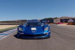 Formatieronde: #90 Spirit of Daytona Chevrolet Corvette DP: Antonio Garcia, Richard Westbrook