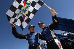 Winners Antonio Garcia, Richard Westbrook