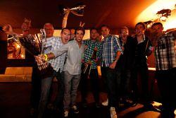 Antonio Felix Da Costa, William Buller and Carlin team members