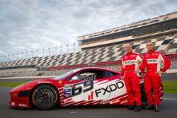 #69 AIM Autosport Team FXDD Racing with Ferrari Ferrari 458: Emil Assentato and Jeff Segal