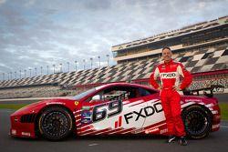 #69 AIM Autosport Team FXDD Racing with Ferrari Ferrari 458: Nick Longhi